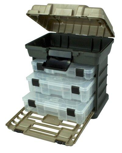 1527111705 41z3cVzUSfL - Plano Molding 1363 Stow N Go Toolbox, Graphite Gray and Sandstone